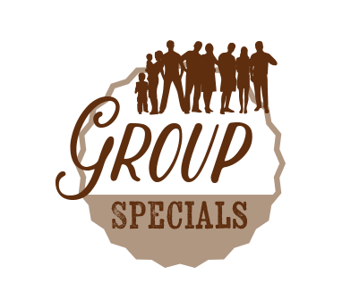 Group Rustic Cabin Specials