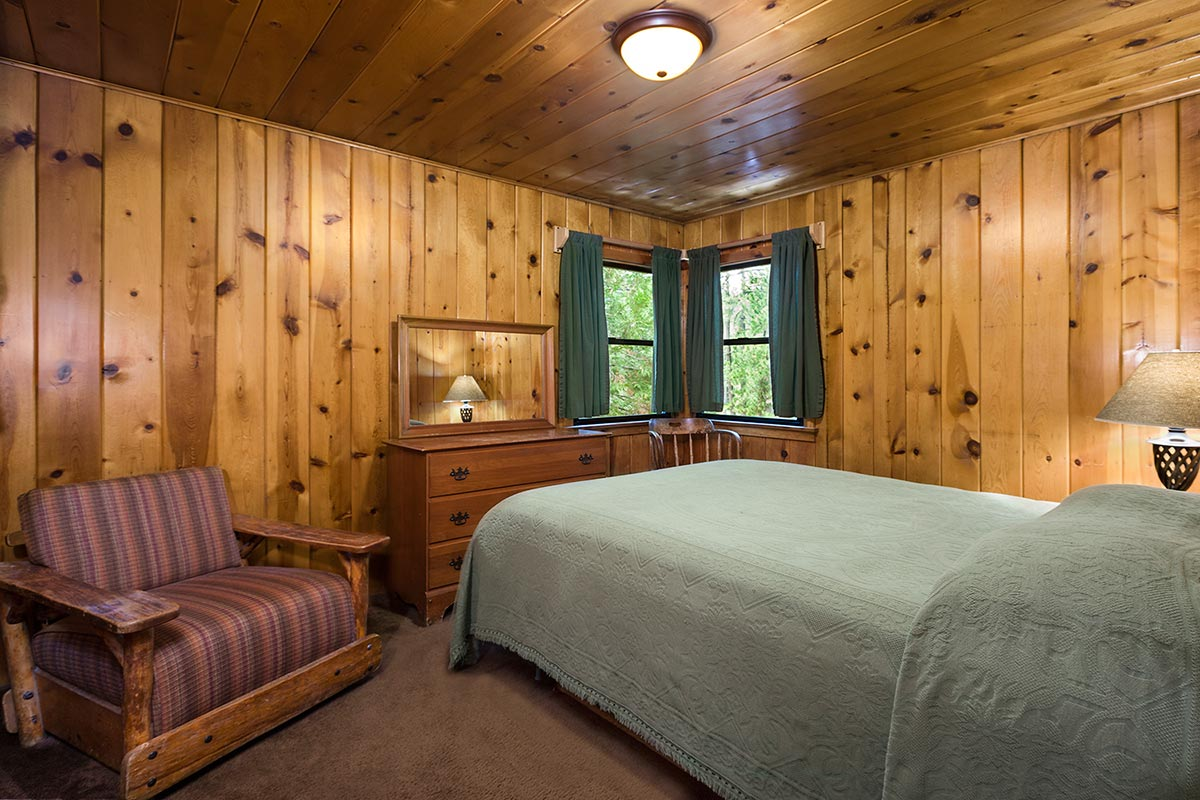 Bedroom 1 for One bedroom cabins to build